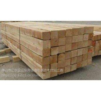 东莞石龙镇建筑木方 工地方条 桥梁木板厂家
