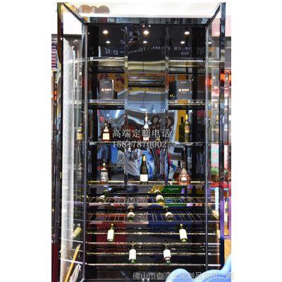 上海厂家专业定制不锈钢恒温酒柜