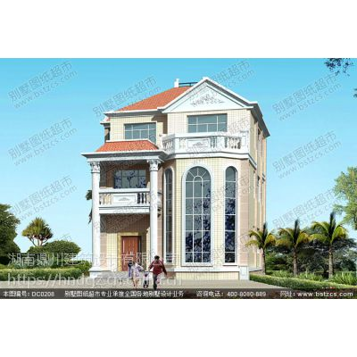 大气三层复式客厅别墅设计效果图