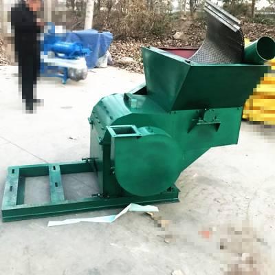 大型自动进料粉碎机 稻草芦苇瓜秧秸秆环保无尘沙克龙饲料秸秆粉碎机 邦腾制造