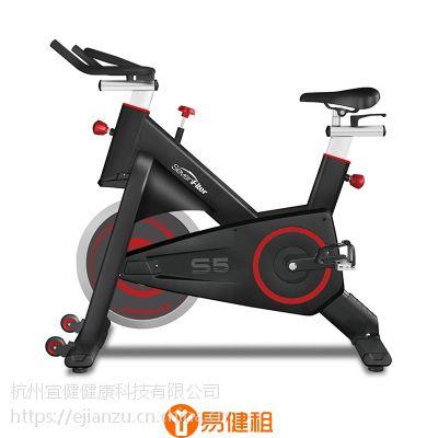 杭州易健租出租OMNIA皮带磁控阻力家用动感单车免费维修