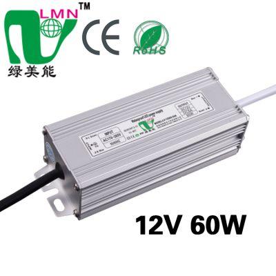 供应12V60WLED防水电源