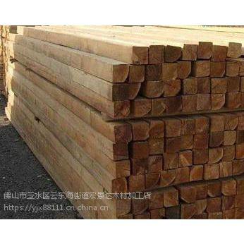 湛江建筑木方 进口方木 高速桥梁工地模板厂家