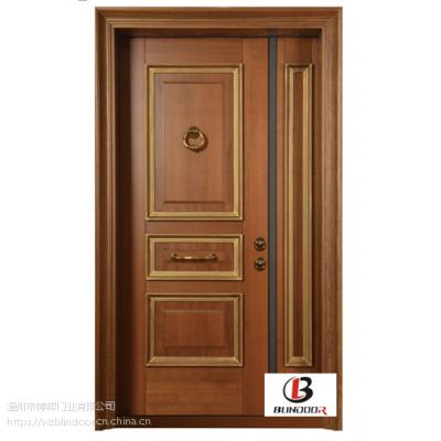 温州博邦门业 优质纯手工木门 中意合资装甲门
