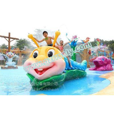 广州润乐供应水上乐园设备、戏水小品——毛毛虫