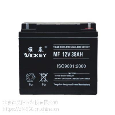 维基蓄电池12V38AH厂家直销报价及规格