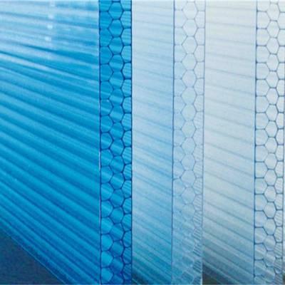 pc四层阳光板,四层pc阳光板 朴丰建材厂家定制