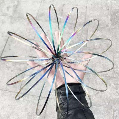 义乌不锈钢魔术手环电镀、品质优幻彩真空电镀、性价比高七彩PVD真空镀膜加工、交期短、艺延实业