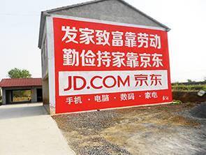 湖北武汉墙体广告公司、新洲区户外农村墙体广告