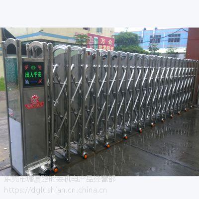 供应大朗电拉闸门、工厂遥控伸缩门整套门安装
