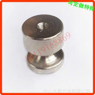 不锈钢圆柱拉手 简约圆形拉手 生产加工定做 佛山中山江门螺母帽