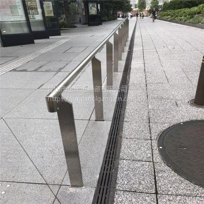 金聚进 供应铁艺弯弧型栏杆 常温氟碳喷涂栏杆 厂家定制