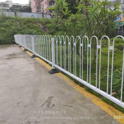 阳江马路边市政护栏 深标港式护栏 珠海港式防护栏