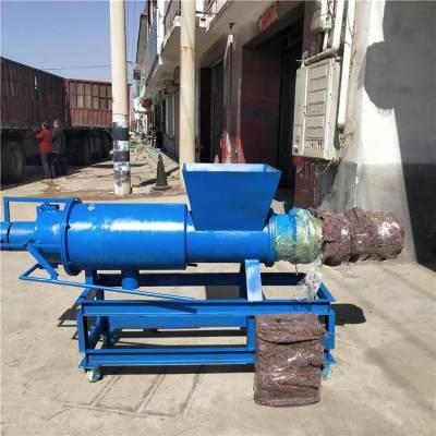 方便耐用的牛粪脱水机 可处理多种养殖场粪便机 浩发