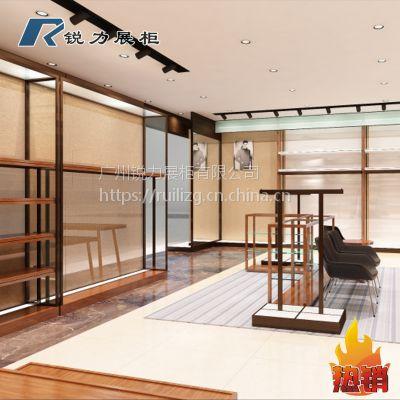 广州展柜定做男装展示高柜
