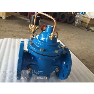 龙湾温州瓯北专业106X电动遥控浮球阀提供标识图纸管道给排水上图片