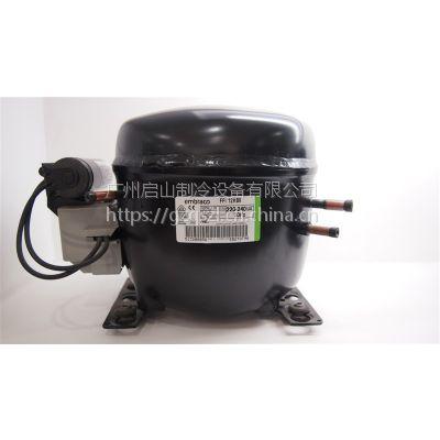 Embraco恩布拉科压缩机FFI12HBK 220V 50Hz R134a 冷藏用制冷设备