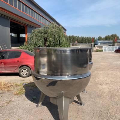 夹层锅 焖子熬制锅 凉粉搅拌加工机器