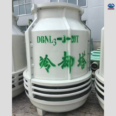 中温工况降温10度冷却塔 玻璃钢凉水塔流量选择 10-300吨【河北华强】