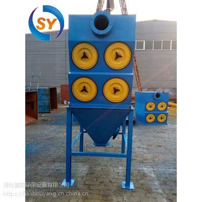 江阴家具厂DMC-264型号小型除尘器布袋更换安装方