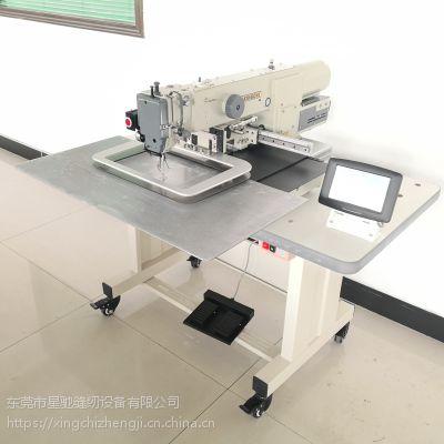 星驰电脑针车军装套结加固/ 婴儿车厂专用的花样机 缝中设备