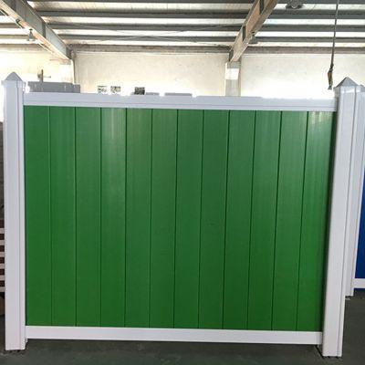 厂家直销PVC蓝色工地围挡 PVC工地施工围挡 工程防撞设施塑钢防护栏