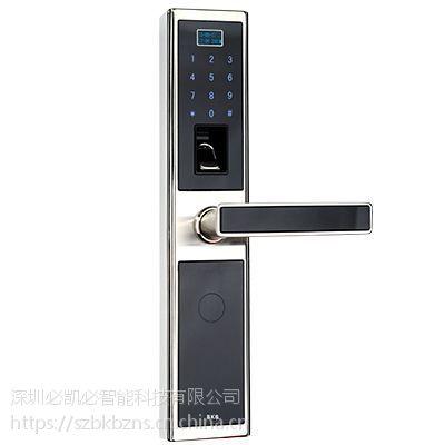 K-1389指纹密码锁(本色)-智能锁供应-深圳必凯必