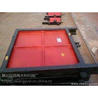 翔禹水利供应1.2米*1.2米双向铸铁闸门
