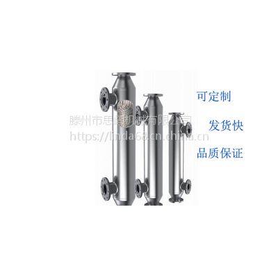 螺旋缠绕管式换热器 四氟换热器 钛材冷凝器