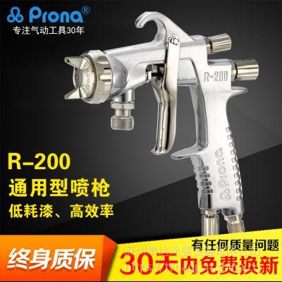 台湾宝丽原装喷枪R-200 汽车家具大面积手动喷漆枪