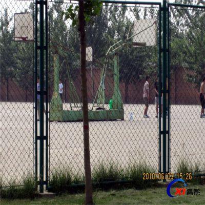 厂家直销篮球场网围栏 体育围栏网 浸塑铁丝网围栏可定制