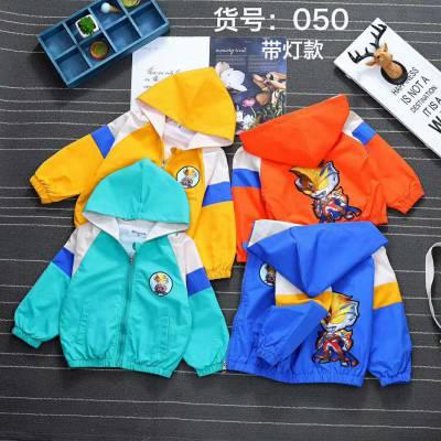 5元起地摊童装2件套韩版中大童加绒童套装巴巴童装网