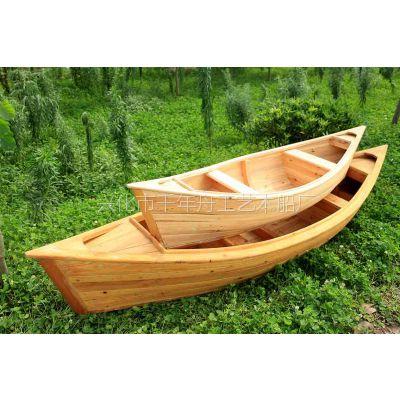 云南哪里有装饰船生产厂家中式木船|仿古做旧船|养花船|两头尖木船