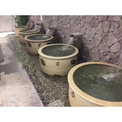 云锋陶瓷上海养生极乐汤洗浴泡澡缸的定制价格