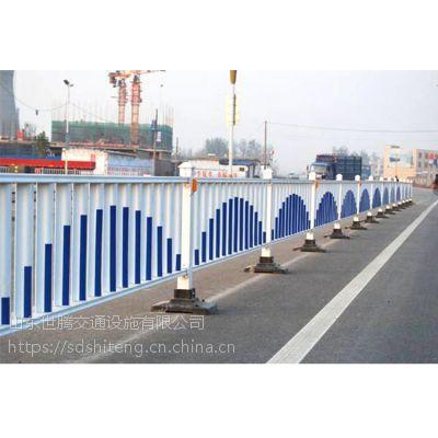山东定做城市马路护栏公路防护栏道路隔离栏人行道防撞围栏 市政围挡