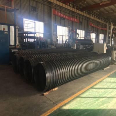 钢带增强螺旋波纹管产品图