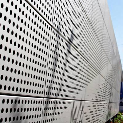 天津精美的幕墙打孔装饰铝单板厂家