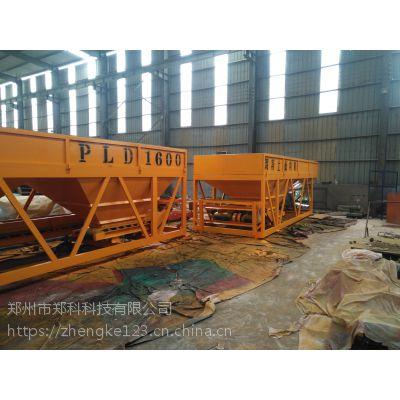 南安郑科1600型分体组合结构四仓配料设备