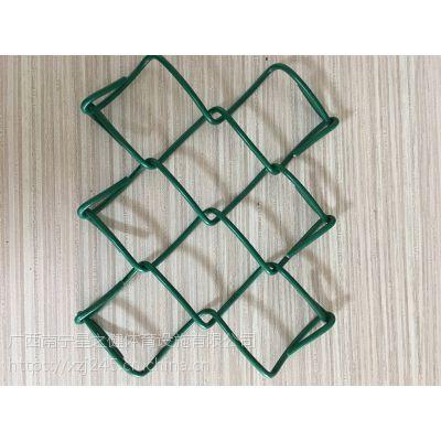 篮球场围栏网 球场围网 学校专用隔离铁丝网 包皮勾花网