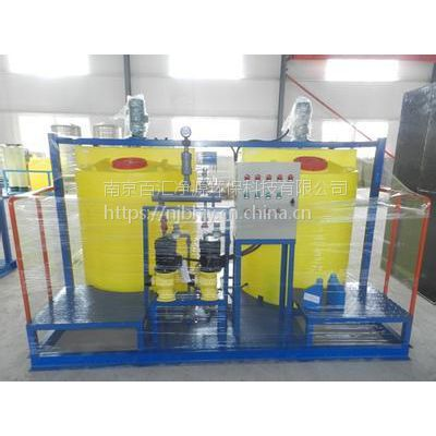 河北百汇净源供应BHJY型全自动型水洗加药装置