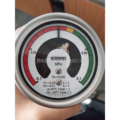 精度1.5级的SF6密度表(带报警闭锁接点)