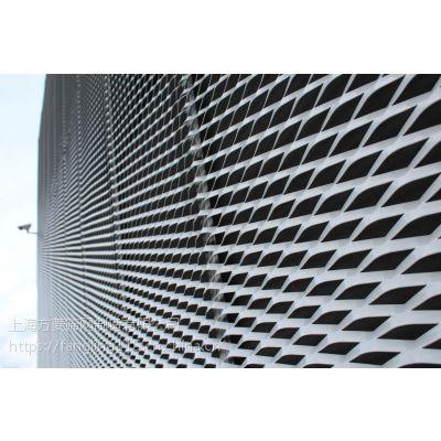 上海拉伸网幕墙铝网菱型拉伸网_生产定做扩张网