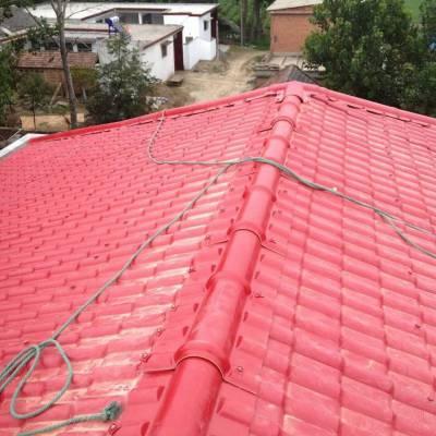 合成树脂瓦 屋顶仿古琉璃瓦 波形树脂复合瓦批发