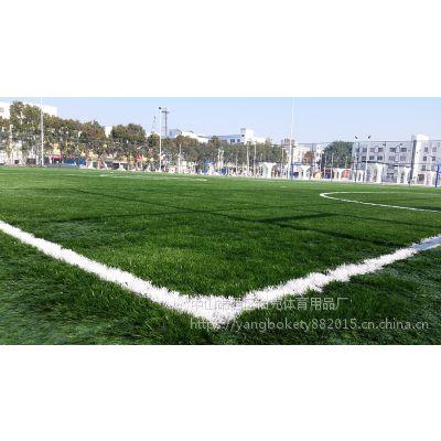 中山厂家批发人造草人造草坪 单丝草网状草塑料草 足球场地面地坪仿真草坪