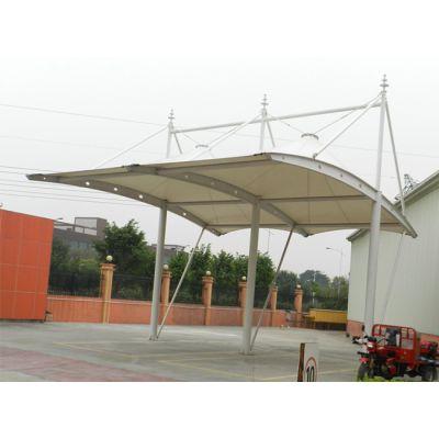无锡膜结构车棚厂家订制 无锡膜结构车棚透光性能好