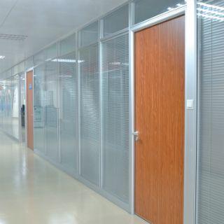 玻璃隔断效果 办公写字楼隔间 厂家直销