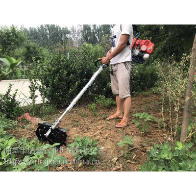 手持轻便割草机 背负式小麦荞麦收割机 背负式开沟除草机