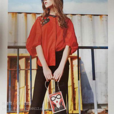 广州潮牌欧娅铂品牌女装折扣尾货拿货进货渠道
