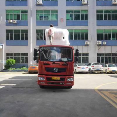 深圳坂田到天津17米5平板车拖头大挂车长途运输