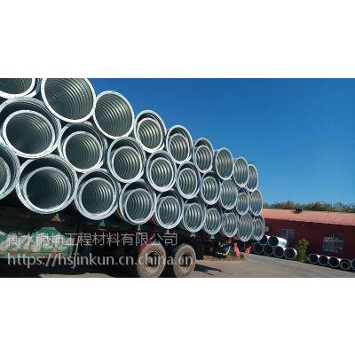 锦坤JKHG-1.0-3.0高强度金属波纹管--拉萨波纹管生产厂家